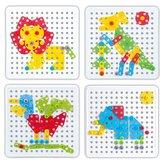 Animal Σετ μοντέλου συναρμολόγησης Block Toys Εκπαιδευτικά Παιδικά Παιχνίδια DIY
