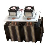 Enhanced Version 12V 12A 144W DIY Double Head Semiconductor Refrigerator Radiator Cooling Equipment