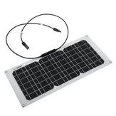 Pannello monocristallino solare da 20W 550x240x3mm con fori di montaggio