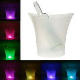 7 kleuren LED Light Ice Bucket Drinks Ice Cooler Bar Party 5L