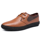 Original Spicing Leather Business Vestido Zapatos Casual Office Oxfords