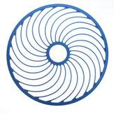 45 cm Handwerfen Cast Net Ring Hilfsfang Angeln Zubehör Werkzeug