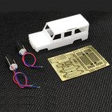 DS87A01 DIY KIT Dla DAS87 1/87 4WD Land Rover Defender RC Car Parts