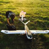 Skywalker Titan 2160mm Wingspan V-Tail Twin-Motor EPO aeroplano de levantamento aéreo KIT de avião RC