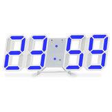Luminous 3D Digital Часы Настенный голосовой пульт LED Электронная сигнализация с контролем температуры Школа Принадлежности
