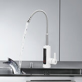 3KW Instant Hot Water Tap Electric Faucet Heater Kitchen Temperature Display