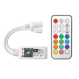 ARILUX® SL-LC 09 Super Mini LED WIFI APP Controller + RF Control remoto Para RGB LED Strip DC9-28V