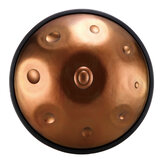 HLURU F major/D minor 9/10 Notes Musical Handpan Drum Professional Handpan Durable Carbon Steel Tongue Drum