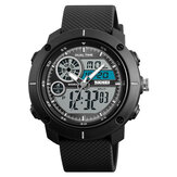 SKMEI 1361  Chronograph Alarm Dual Display Men Digital Menonton