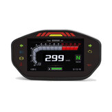 14000RPM Motorcycle TFT LCD Display Digital Speedometer Odometer 6 Gear Backlight Meter For 1 2 4 Cylinders Universal