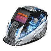 Auto escurecimento solar capacete de solda soldador Máscara Moagem escudo protetor