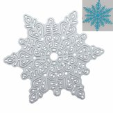 Metal Snowflake Christmas Cutting Dies DIY Scrapbooking Album Paper Card Decor