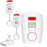 Infravermelho de segurança sem fio PIR Sensor entrada de alarme sistema de alarme Home Motion