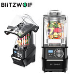 BlitzWolf® BW-CB2 Professional Vacuum Countertop Blender 1500W 50/60Hz 10 Speeds Smoothie Blender with Quiet Shield,10 Auto-Blending Models for Kitchen