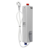3000W 220V Instant Electric Tankless Hot Water Heater for Shower Kitchen Bathroom