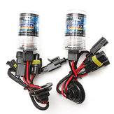 Car 55W H1 HID Xenon Headlights Bulb 3000K-30000K 2600-4600LM 2PCS