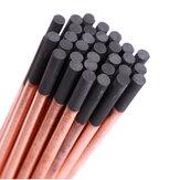5Pcs Round ARC Air Gouging Carbon Rod Bar 6-12mm Welding DC Gas Gouging Electrode Graphite Rods Soldering Supplies