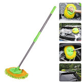 Adjust Car Wash Duster House Cleaning Brush Wax Mop Telescoping Dust Dusting