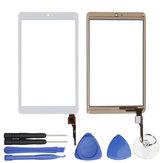 Branco LCD Touch Screen Digitador Para ACER ICONIA ONE 8 B1-850 A6001 8 Polegada w / Ferramentas