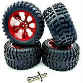 Wltoys 104001 1/10 RC Auto Verbesserte Reifen Räder Felgen Verbreitern 4PCS Fahrzeuge Modell Ersatzteile
