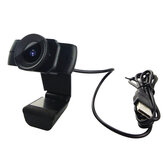 Webcam 1080P USB Video Gamer Câmera PC Full HD Web Cam Microfone embutido para Youtube Web Camera
