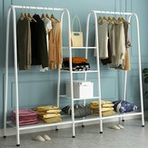 Multifunctional Garment Rack Shose Organizer Hanger Multi-layer Storage Shelf for Home Decoration