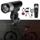 WÄHLENUP600LMFahrradLichtSet Radfahren Fahrrad Licht Rücklicht Set USB Wiederaufladbare IPX4 Wasserdicht