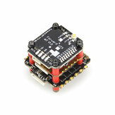20x20mm HGLRC Zeus F735-VTX STACK F722 Flight Controller 35A Blheli_32 3~6S 4 IN 1 Brushless ESC MT VTX Mini 25~600mW for RC Drone FPV Racing