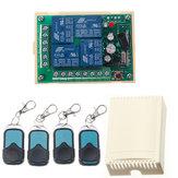 HCS301 433MHz Rolling Code Control remoto Interruptor inalámbrico de la fuente de alimentación Módulo Receptor