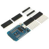 3Pcs WeMos D1 Mini V2 NodeMcu 4M Bytes Lua WIFI Internet Of Things Development Board Based ESP8266 WeMos for Arduino - products that work with official Arduino boards