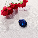 Exquisite 14.23CT Royal Blue Sapphire 13x18mm Oval Cut AAAAA Loose Gemstone Decorations