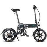 [Direto da UE] FIIDO D2S Versão Deslocamento 36 V 7.8Ah 250 W 16 Polegadas Ciclismo Dobrável Bicicleta 25 km / h Max 50 KM Milhagem Bicicleta Elétrica