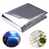 82x51 Inch Silver Plant Reflective Film Grow Light Accessories Lapisan Reflektansi Rumah Kaca