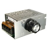 AC 220 V 4000 W SCR Regulator napięcia Ściemniacz Elektroniczny regulator prędkości silnika