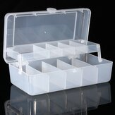Two layer Tool Spoon Plastic Tackle Box Tool Organizers