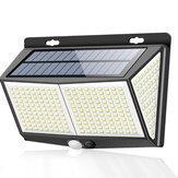 ARILUX 8W 288LED Solar Luz de pared Motion Sensor Camino de patio de jardín Lámpara 3 modos Impermeable IP65
