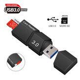 Mini-USB-Adapter USB-Kartenleser Für Micro TF / SD-Adapterkonverter Smart High Speed USB 3.0-Speicherkartenleser Satz