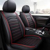 غطاء حماية للمقعد الأمامي للسيارة من الجلد لـ 5 مقاعد ، وسادة محيطة كاملة