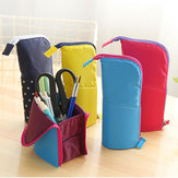Multi-function Pencil Bags Creative Standing Stationery Bag
