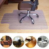 Tiszta PVC padlószőnyeg otthoni irodai gördülő szék padlószőnyeg védő karcolásgátló PVC átlátszó szék mat