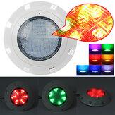 AC12V 72W 7 cores RGB LED Natação Piscina Lâmpada subaquática leve + Controle Remoto