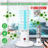 UVC+Ozone Sterilizing Lamp UV Germicidal Disinfection Night Light Timing Control