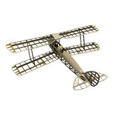 Tiger Moth 1000mm Envergadura Balsa Wood Láser Corte Retro Biplano Training RC Avión KIT para Entrenador Principiante