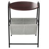 Съемный стол для ноутбука прикроватной тумбочки прикроватного шкафа стола Чай съемного стола с таблицей корзины для хранения