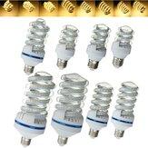 5w-30w LED ultra brilhante de poupança de energia lâmpada branca quente ac86-245v E27 Estilo espiral