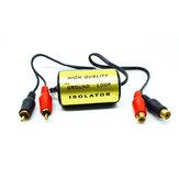 RCA Авто Усилитель Аудиофильтр Мужской и Женский Коннектор Шумовой фильтр Авто Модификация аудио