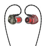 Bakeey S8 4D Stereo HiFi 3.5mm Wired Control Heavy Bass In-ear Sport Earphone with Mic