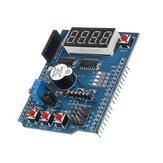 Placa de expansão multifuncional Kit de aprendizado básico Placa de desenvolvimento MCU para Arduino
