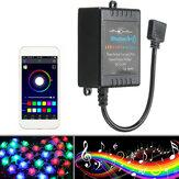 Bluetooth-telefoon APP-controller Muziekafstandsbediening voor 5050/3528 RGB LED-stripverlichting 12V