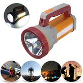 3000LM USB Rechargeble Super Brilhante LED Holofotes À Prova D 'Água Holofote Tocha Caminhadas LED Lanterna